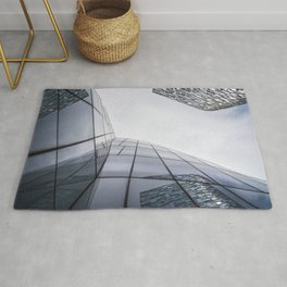 Modern architecture buildings in New York City Rug