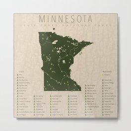 Minnesota Parks Metal Print