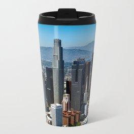 Los Angles Day Time Skyline Travel Mug