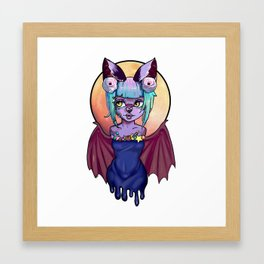 Decora Batgirl Framed Art Print