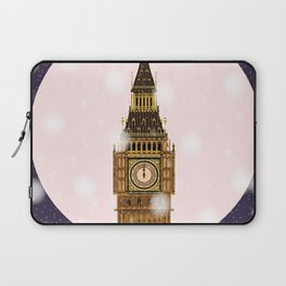 London Christmas Eve Laptop Sleeve