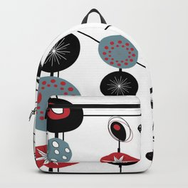 Mid-Century Modern Art Atomic Cocktail 3.0 Backpack