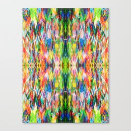 The Peace Kaleidoscope Canvas Print