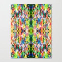 The Peace Kaleidoscope Canvas Print