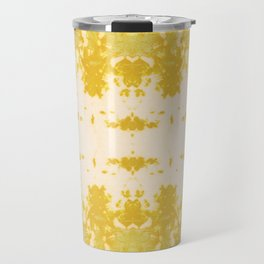 Kumo Ikat Turmeric Travel Mug