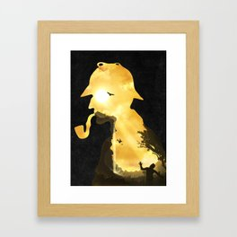 The Parting Hour Framed Art Print