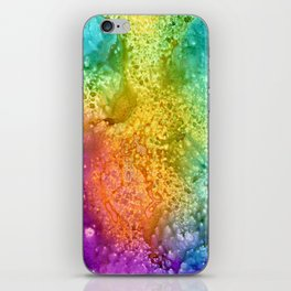 Rainbow Explosion iPhone Skin
