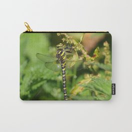 Golden Ringed Dragonfly Carry-All Pouch