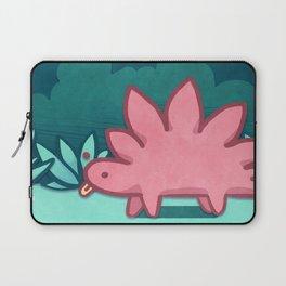 Stegosaurus Blep Laptop Sleeve