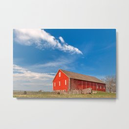 Spangler House Farm Metal Print