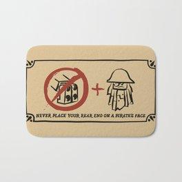 Metal Beard's Rule 1 Bath Mat
