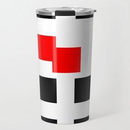 No Touching (Square) Travel Mug