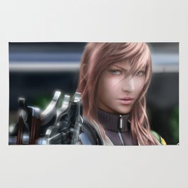 Lightning - Final Fantasy XVIII Rug