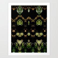 Tree Geometry Art Print