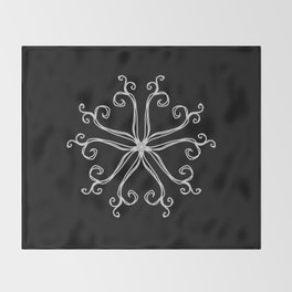 Five Pointed Star Series #10 Throw Blanket