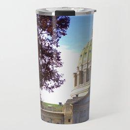 Pennsylvania State Capitol Building Autumn Travel Mug