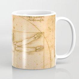 Vitruvian Man by Leonardo da Vinci Coffee Mug