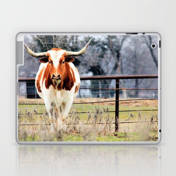 Texas Longhorn Morning Laptop & iPad Skin