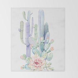 Mixed Cacti 2 #society6 #buyart Throw Blanket