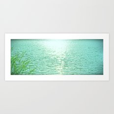 This is Serenity Art Print