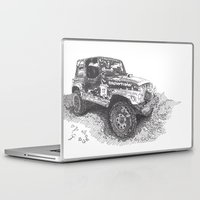 jeep Laptop & iPad Skins featuring Jeep by Rik Reimert