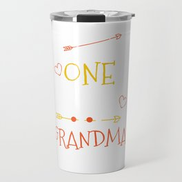 One Thank Grandma Happy Thanksgiving Day Travel Mug