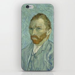 Vincent van Gogh - Self Portrait iPhone Skin
