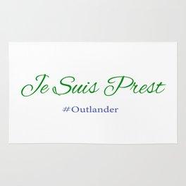 Je Suis Prest #Outlander Rug