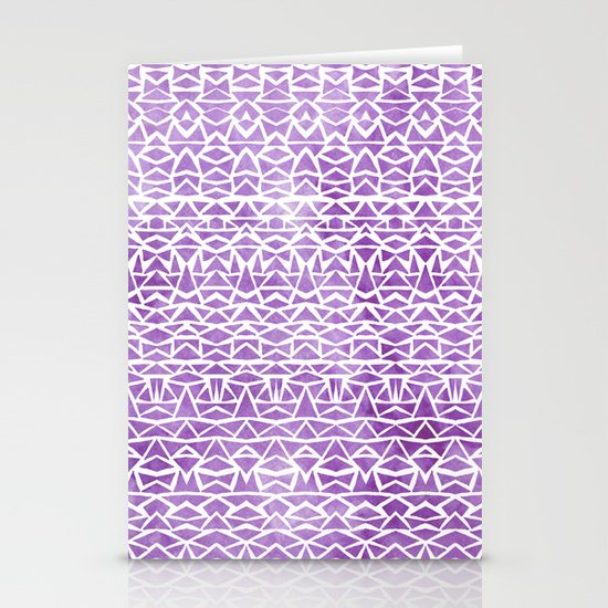 Tribal Mosaic Stationery Cards