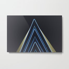 Neon Lights Metal Print