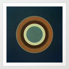 Circular Elegance Art Print