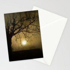 Halloween Sunset Stationery Cards