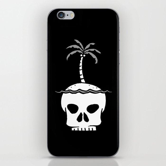 Skull Island – Black iPhone Skin