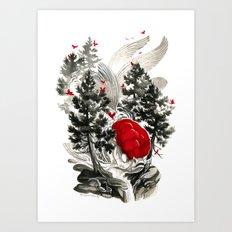 Oranda Art Print