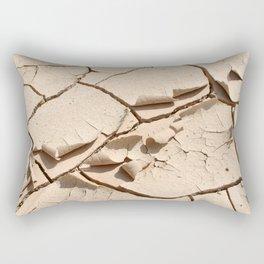 Dry desert soil Rectangular Pillow