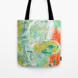 abstract 3 the great loneliness Tote Bag