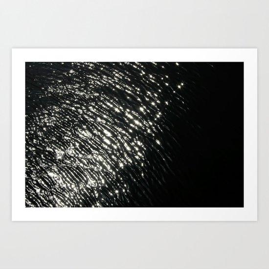 """""""Light fingerprint"""" Art Print"""