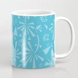 Turquoise Spring Pattern Coffee Mug