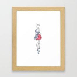 Figurino 1 Framed Art Print