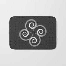Beautiful Celtic style decoration Bath Mat