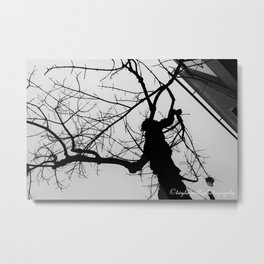The Haunting of The Tree Metal Print
