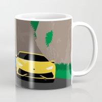 lamborghini Mugs featuring Lamborghini & Bugatti by Szilárd A Legjobb