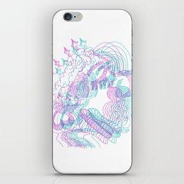 dreams in color  iPhone Skin