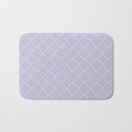 Quatrefoil - Lavender Bath Mat