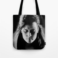sin city Tote Bags featuring Sin City by ClaM