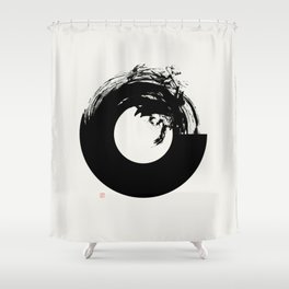 Union (West Meets East Series) Shower Curtain