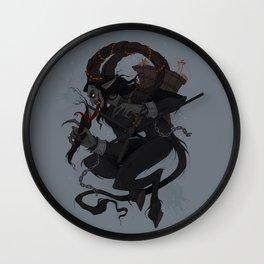 Krampusnacht Wall Clock