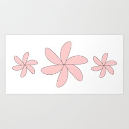 cute flower Art Print