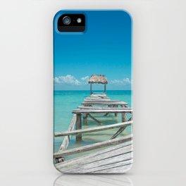Belize Blues iPhone Case