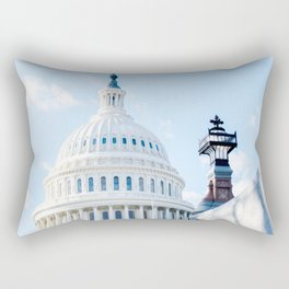 Our Nations Capitol Rectangular Pillow
